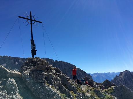 Klettersteig Tajakante : Tajakante klettersteig zwei seen zu füßen tiroler tageszeitung
