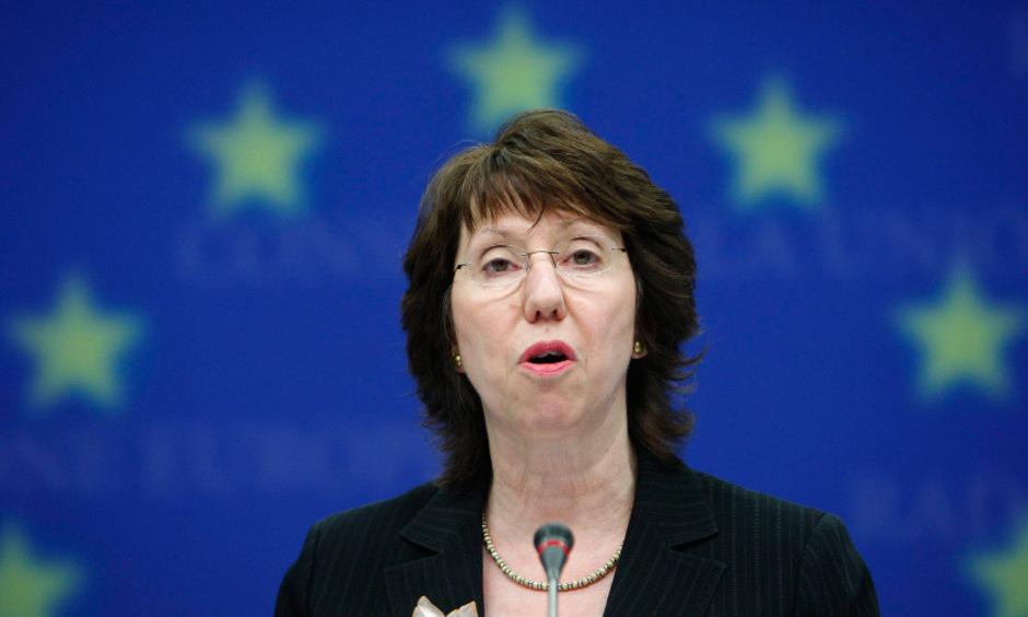 Die EU-Außenbeauftragte Catherine Ashton.