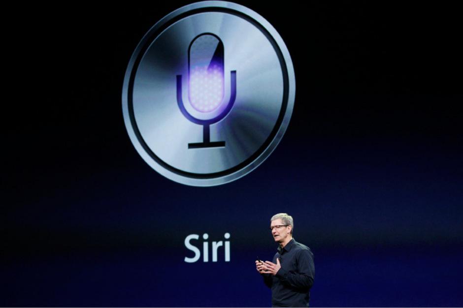 Apple-CEO Tim Cook spricht über Siri. (Archivfoto)