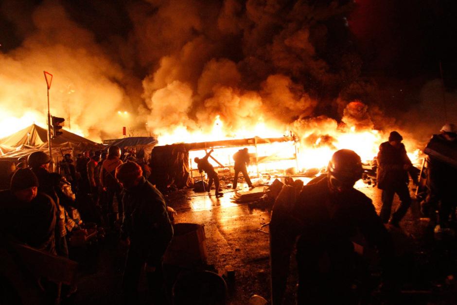"""Überraschende Wende in Kiew: Einigung auf """"Waffenstillstand ..."""