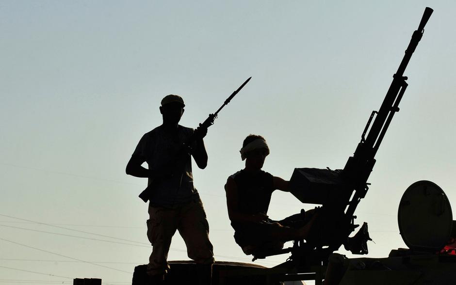 In Libyen wurde ein Hubschrauber abgeschossen. Es soll mindestens 14 Tote geben.