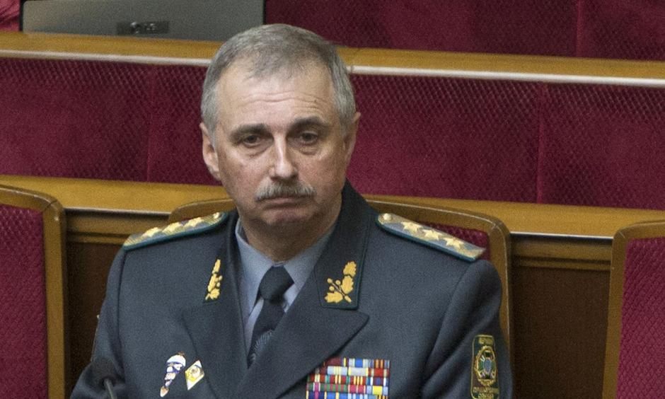 Der neue ukrainische Verteidigungsminister Michail Kowal.