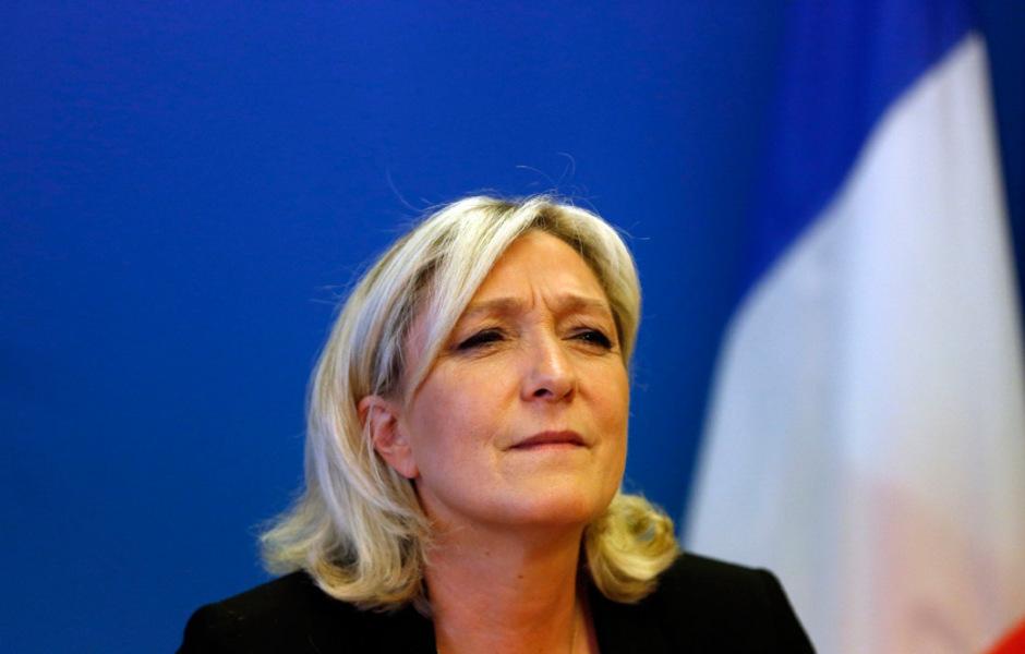 Chefin der Front National, Marine Le Pen.