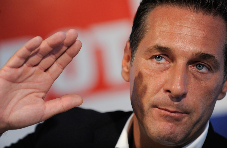 FPÖ-Bundesparteiobmann Heinz-Christian Strache.