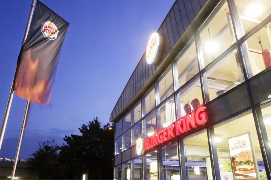 Eine Filiale der Fastfood-Kette Burger King.