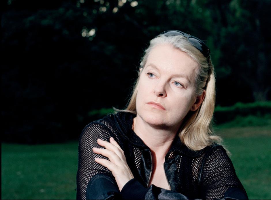 """Mit ihrem Roman """"Die Schmerzmacherin."""" stand Marlene Streeruwitz 2011 auf der Shortlist für den Deutschen Buchpreis."""