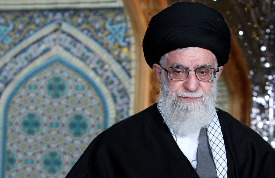 Das geistliche Oberhaupt des Irans, Ajatollah Ali Khamenei.