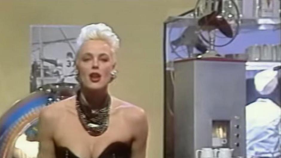 Brigitte Nielsen (damals 24) geizte in den biederen 80ern nicht mit ihren Reizen.