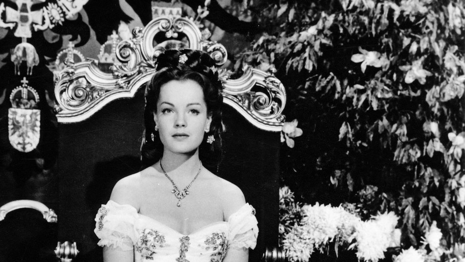 Romy Schneider als Kaiserin Elisabeth.