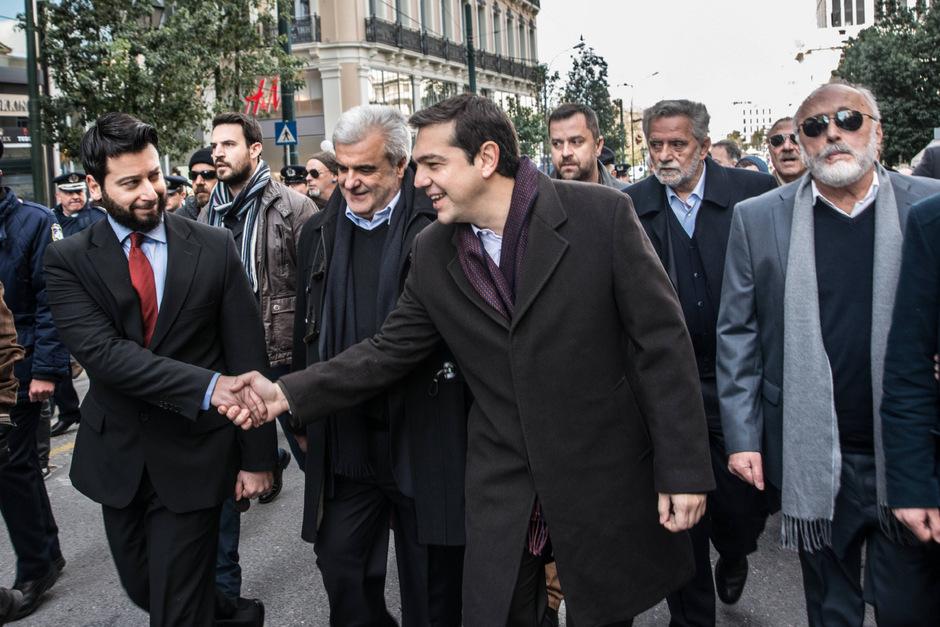 Linkspolitiker Alexis Tsipras könnte bei den Parlamentswahlen in Griechenland triumphieren. In diesem Fall würde wohl eine Ende der griechischen Sparpolitik anstehen.