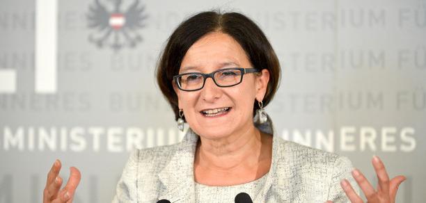 Innenministerin Johanna Mikl-Leitner.