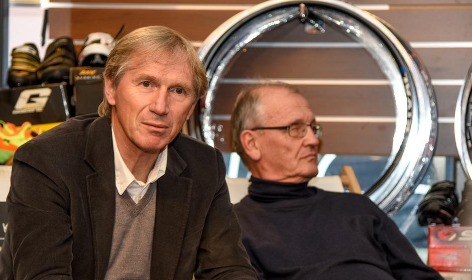 Rudolf Massak (l./Radsportverband) setzt sich auch im Amateurbereich für Dopingkontrollen ein.