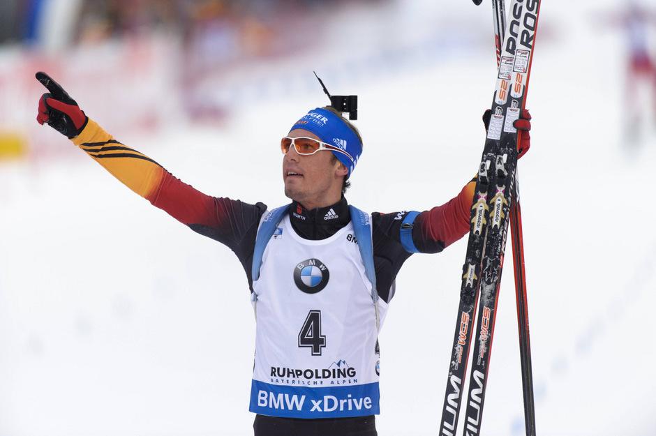 Wenige Tage nach seinem Sieg in Ruhpolding triumphierte Simon Schempp auch in Antholz.
