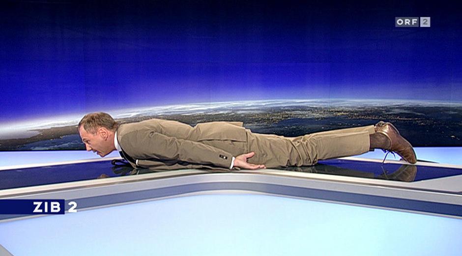 Armin Wolf reagiert in der Sendung auf Internettrends.