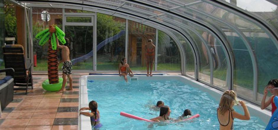 wintergarten mit pool, ein pool fürs ganze jahr   tiroler tageszeitung online – nachrichten, Design ideen