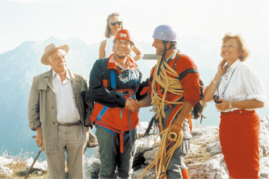 Die Familie Sattmann war das Symbol für die reichen deutschen Gäste, die auf ein hinterlistiges Bergvolk treffen.