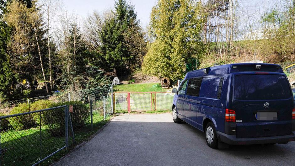 In diesem Schrebergarten am Arzler Framsweg wurde die Leiche des 59-jährigen Mannes gefunden.