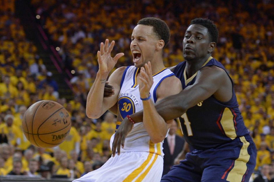 Warriors-Star Curry war kaum zu stoppen.