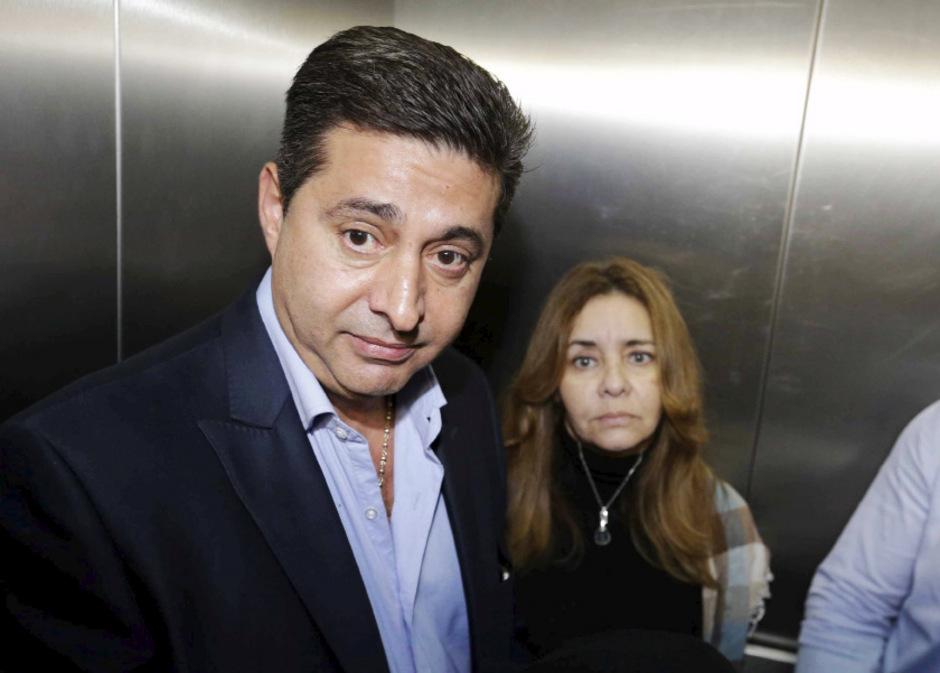 Der Präsident von Boca, Daniel Angelici.