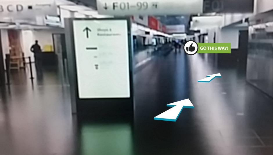 Hier entlang, bitte!