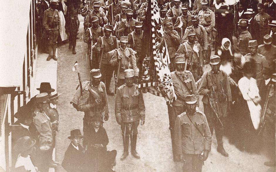 Am 23. Mai 1915 brach ein Bataillon aus dem Gerichtsbezirk Landeck in Richtung Südfront auf. Morgen findet ein Gedenkakt in der Kaserne statt.