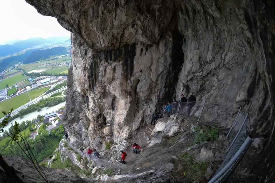 Kaiser Max Klettersteig : Der kaiser max klettersteig bei innsbruck