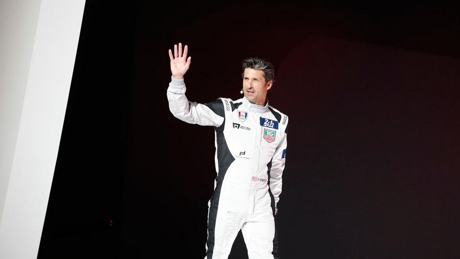 Patrick Dempsey konzentriert sich jetzt auf Motorsport.