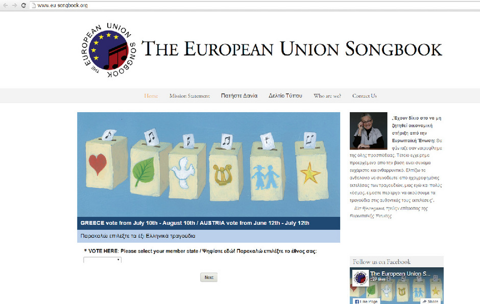 Internetseite zum Buchprojekt.