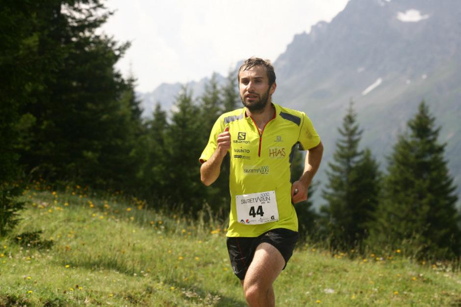 Martin Mattle lief nach 4:19,32 Stunden und 43,4 Kilometern als Erster ins Ziel.