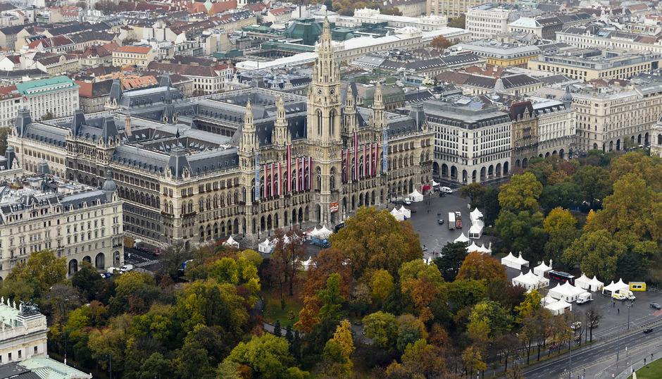 Österreich weist derzeit neun Weltkulturerbestätten auf: Historisches Zentrum von Wien (2001 ernannt).