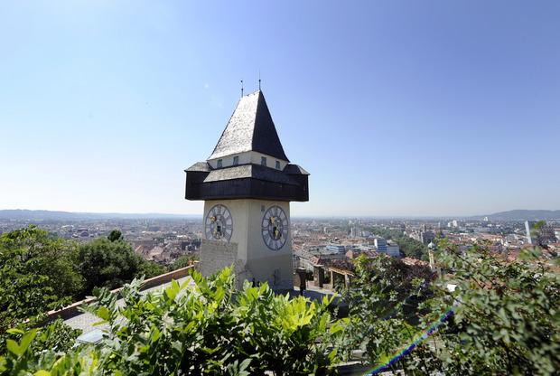 Historisches Zentrum von Graz und Schloss Eggenberg (1999, 2010).