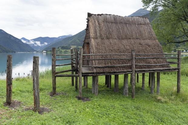 Prähistorische Pfahlbauten um die Alpen (2011)