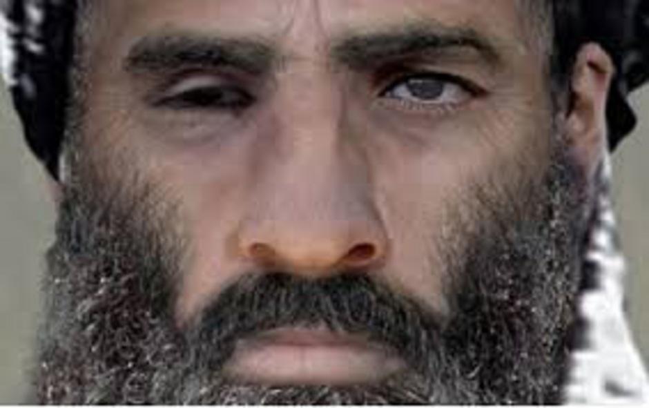 Eines der wenigen Bilder von Mullah Omar.