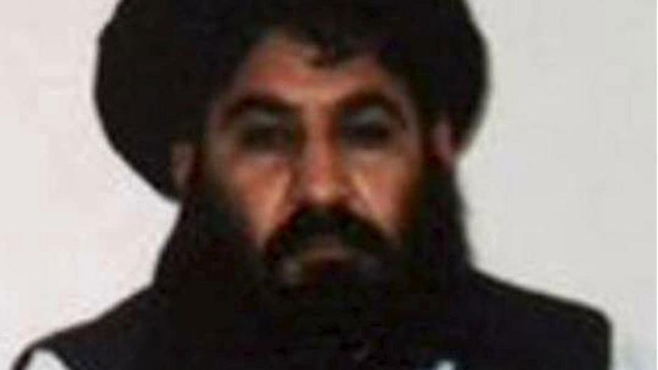 Der verstorbene Taliban-Chef Mullah Akhtar Mansour.