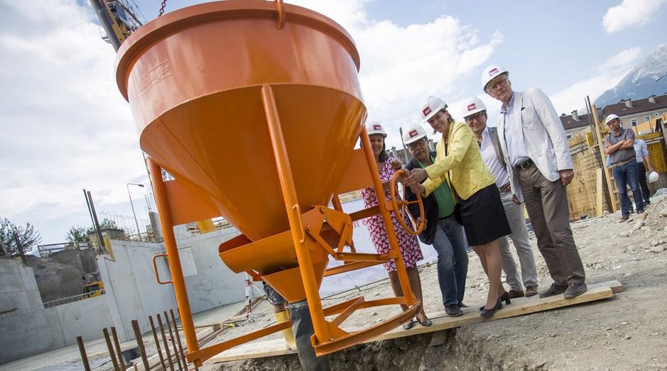Neue Heimat Tirol Zündet Erste Stufe Für 550 Neue Wohnungen