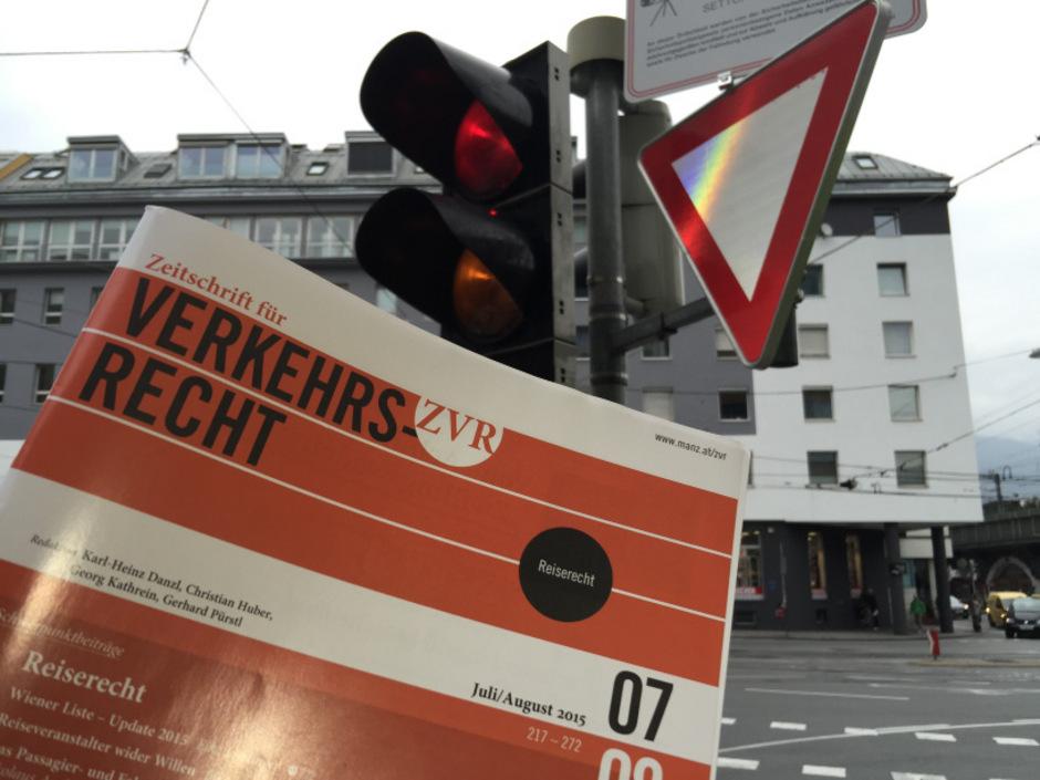 """Ein Einzelheft der monatlich erscheinenden """"Zeitschrift für Verkehrsrecht"""" (ZVR) kostet 25,70 Euro."""