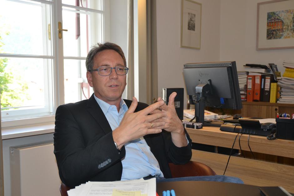 Kufsteins Bürgermeister Martin Krumschnabel.
