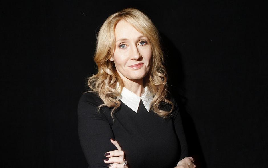 """""""Harry Potter""""-Autorin Joanne K. Rowling."""