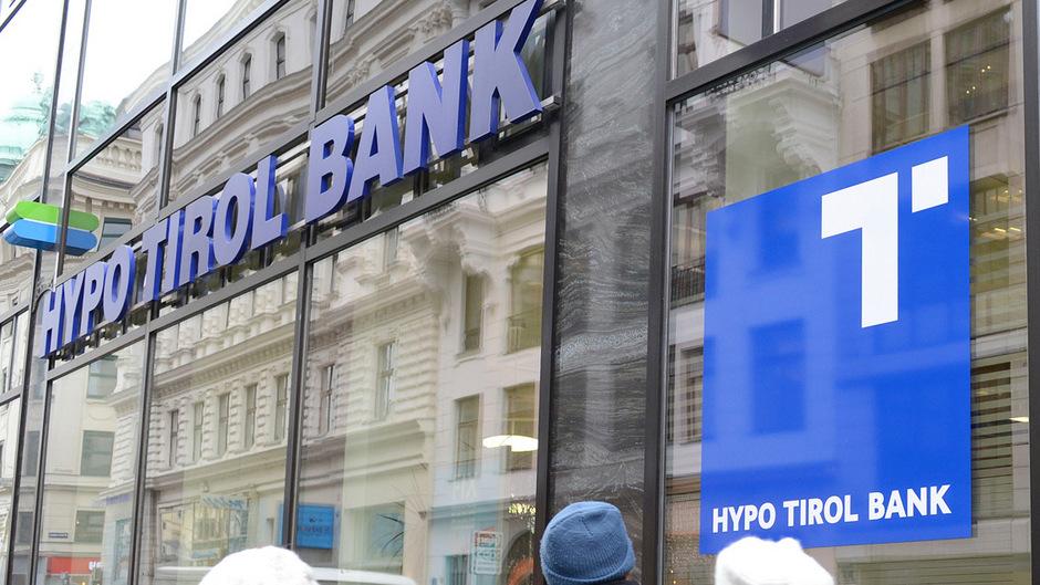 Die Zentrale der Hypo Tirol Bank in Innsbruck.
