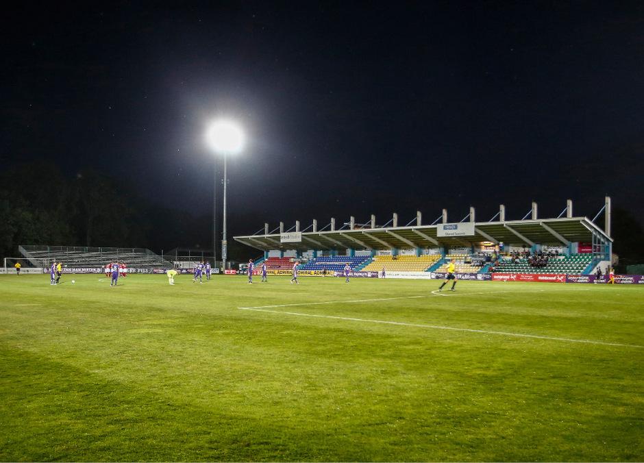 Das Westderby gegen Wacker Innsbruck ging in Schwanenstadt ohne Zuschauer über die Bühne.