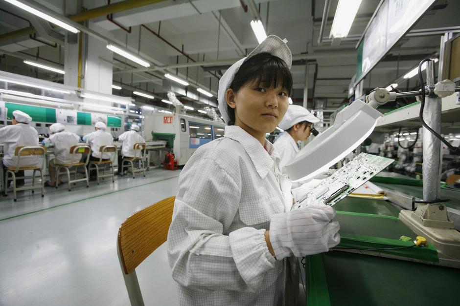 Schlechte Arbeitsbedingungen bei Apple-Zulieferer in China.