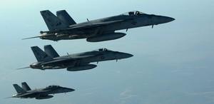 US-Kampfjets fliegen Luftschläge gegen den IS. (Archivbild)