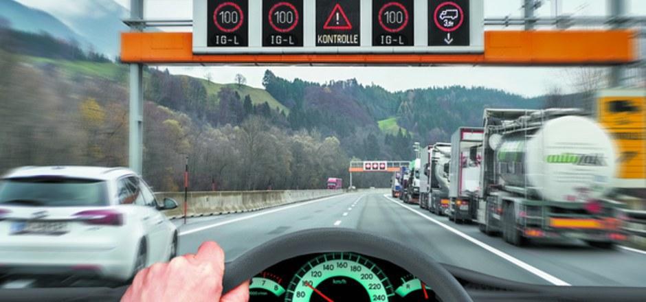 Land Tirol: Die Reduzierung der Maut sei ein  schlechtes Signal und führe  zu einer weiteren Erhöhung des internationalen Güterverkehrs in Tirol. (Symbolfoto)