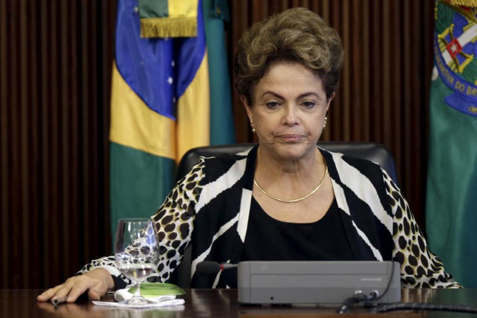 Brasiliens Präsidentin Dilma Rousseff will mit Kürzungen bei den Ausgaben gegensteuern.
