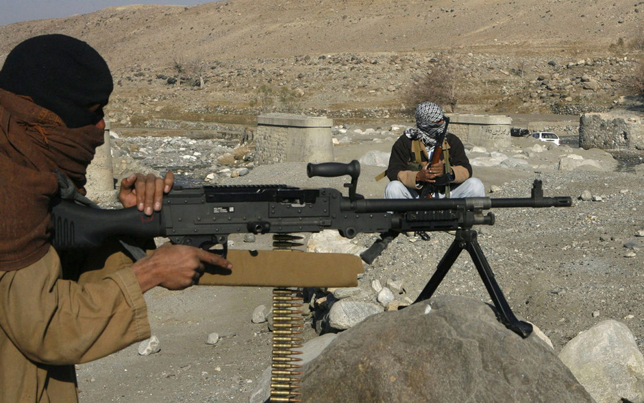 Taliban-Kämpfer in Afghanistan. (Archivbild)