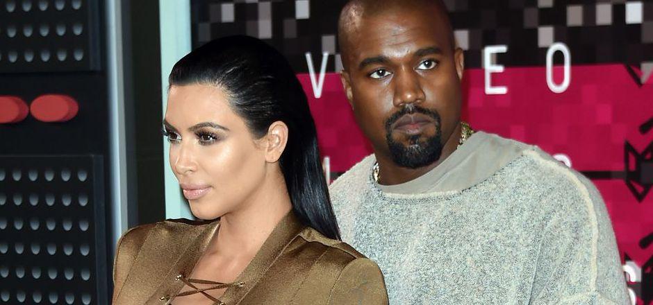 Kim Kardashian und Kanye West.