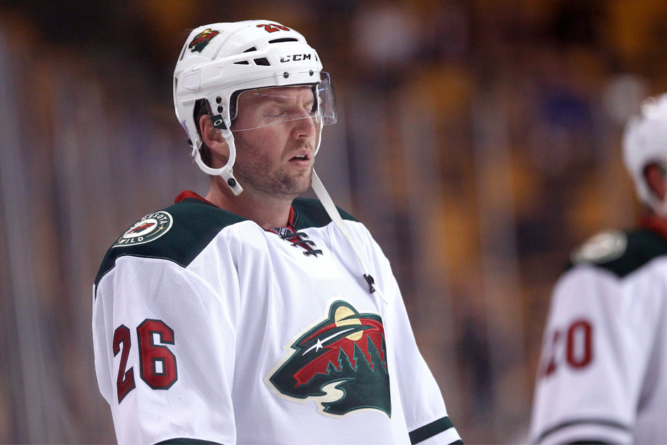 Thomas Vanek und die Minnesota Wild gingen als Verlierer vom Eis.