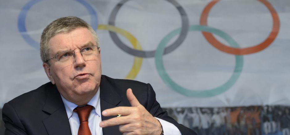 IOC-Präsident Thomas Bach hielt ein Plädoyer für sauberen, ehrlichen Sport.
