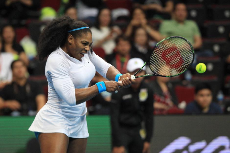 Auch in diesem Jahr mit Abstand die beste Tennisspielerin: Serena Williams.