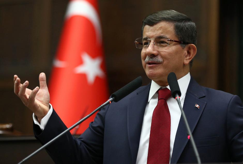 Der türkische Ministerpräsident Ahmet Davutoglu.